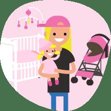 育児・出産イラスト